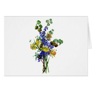 Jean Louis Prevost Daffodil Bouquet Card