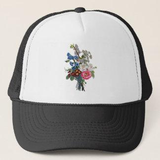 Jean Louis Prevost Mixed Flower Bouquet Trucker Hat