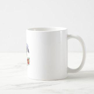 Jean Louis Prevost Purple Iris Bouquet Coffee Mug