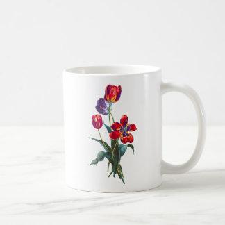 Jean Louis Prevost Tulip Bouquet Coffee Mug