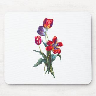 Jean Louis Prevost Tulip Bouquet Mouse Pad