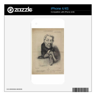 Jean-Marie-Joseph Deville by Honore Daumier Decal For The iPhone 4S