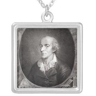 Jean Marie Roland de La Platiere Colgante Cuadrado