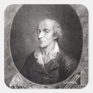 Jean Marie Roland de La Platiere Square Sticker