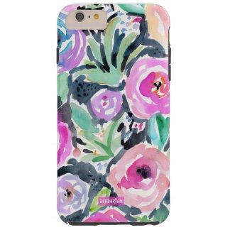 JEAN MARY'S GARDEN Watercolor Floral Tough iPhone 6 Plus Case