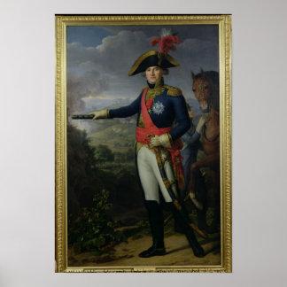 Jean Mathieu Philibert Serurier  Comte d'Empire Poster