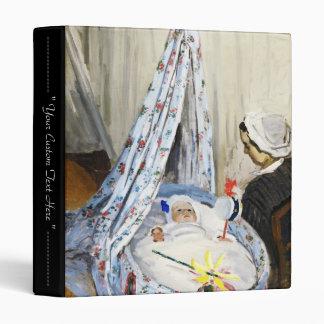 """Jean Monet en la cuna Claude Monet fresco, viejo, Carpeta 1"""""""