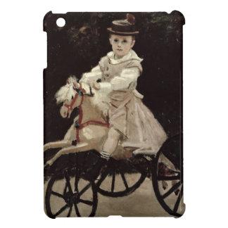 Jean Monet en su caballo de la afición, 1872