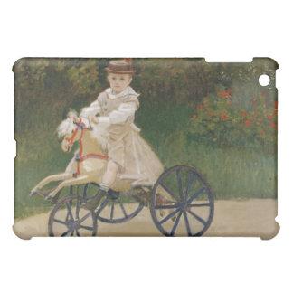 Jean Monet en su caballo de la afición - Claude Mo