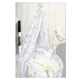 Jean Monet in the Cradle Claude Monet cool, old, Dry-Erase Board