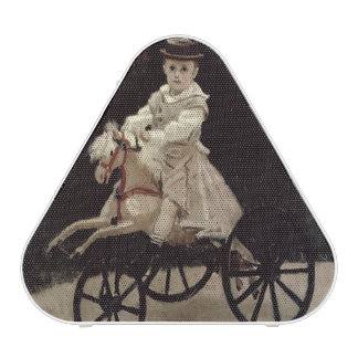 Jean Monet on his Hobby Horse, 1872 Bluetooth Speaker