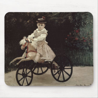 Jean Monet on his Hobby Horse, 1872 Mouse Pad