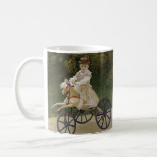 Jean Monet on his hobby horse Coffee Mug