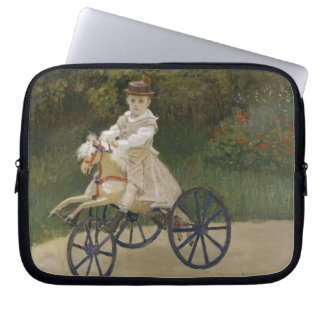 Jean Monet on his hobby horse Laptop Sleeve