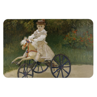 Jean Monet on his hobby horse Magnet