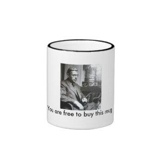 Jean-Paul Sartre Mug
