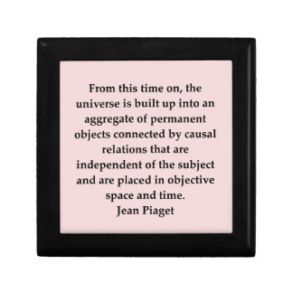 jean piaget quote jewelry box