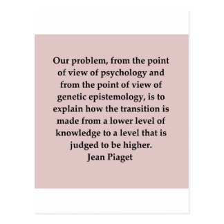 jean piaget quote post cards