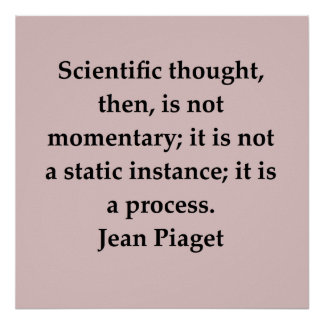 jean piaget quote print