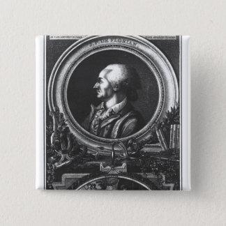 Jean-Pierre Claris de Florian Pinback Button
