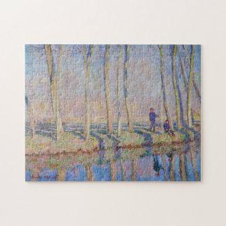 Jean-Pierre Hoschedé & Michel Monet Fine Art Jigsaw Puzzle