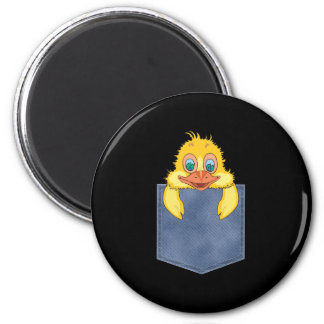 Jean Pocket Baby Duck Magnets