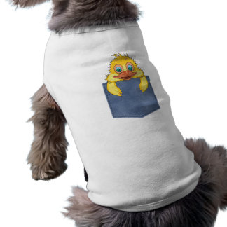 Jean Pocket Baby Duck Pet Clothing