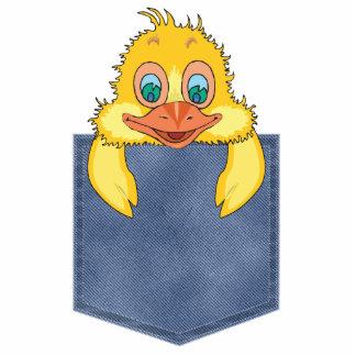 Jean Pocket Baby Duck Photo Sculpture