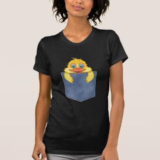 Jean Pocket Baby Duck T Shirt