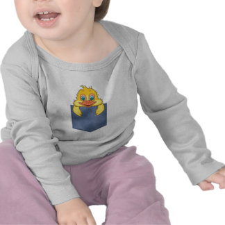 Jean Pocket Baby Duck T-shirts