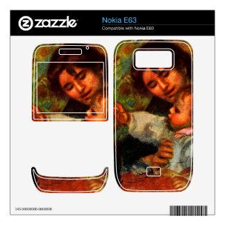 Jean Renoir and Gabrielle by Pierre Renoir Skin For Nokia E63