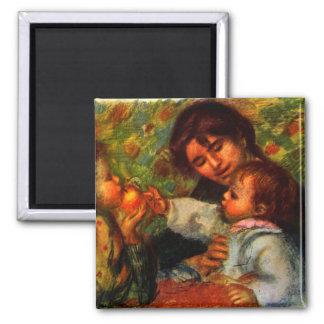 Jean Renoir y Gabrielle de Pedro Renoir Imán De Frigorífico