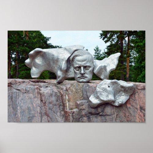 Jean Sibelius Sculpture, Helsinki, Finland Poster