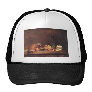 Jean Simeon Chardin- Still Life with Jar of Olives Hats