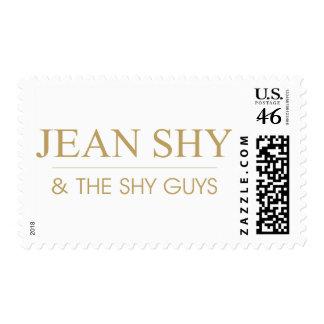 Jean tímido y texto del oro de TSG