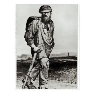 Jean Valjean Postcard