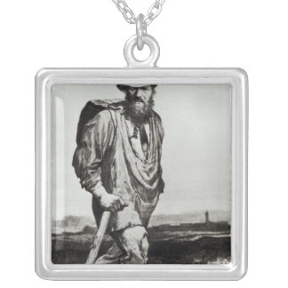 Jean Valjean Silver Plated Necklace