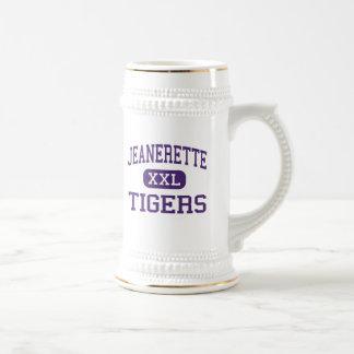 Jeanerette - Tigers - High - Jeanerette Louisiana Beer Stein