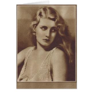 Jeanette Loff 1929 Card