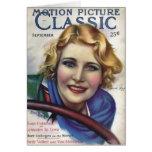 Jeanette Loff Vintage 1929 Movie Magazine Card