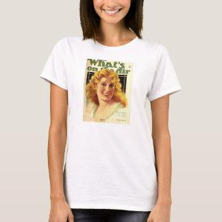 Jeanette MacDonald 1931 radio cover operetta T-Shirt