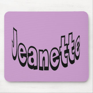 Jeanette Mouse Pad
