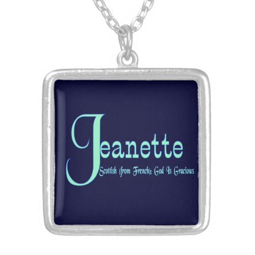 Jeanette Necklace