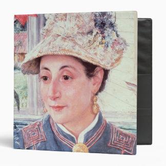 "Jeanette Rubenson, 1883 Carpeta 1 1/2"""