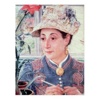 Jeanette Rubenson, 1883 Postcard