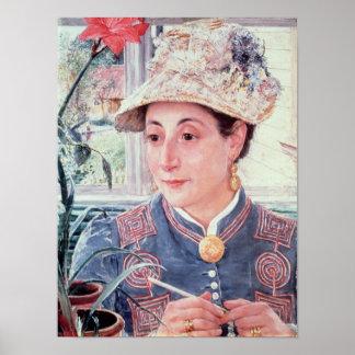 Jeanette Rubenson, 1883 Póster
