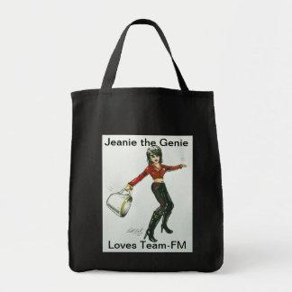 Jeanie la bolsa de asas de los genios