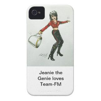 Jeanie los genios ama el caso del iPhone de Equipo Case-Mate iPhone 4 Funda