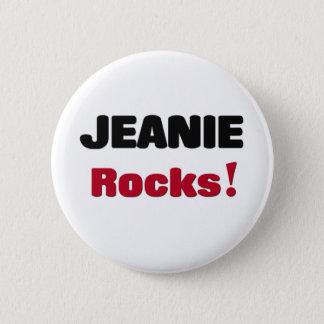 Jeanie Rocks Button