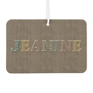 Jeanine Oxford Tweed Design Air Freshener